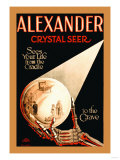 Alexander, The Crystal Seer Prints