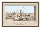 Independence Hall in 1876, Philadelphia Prints by Thompson Westcott