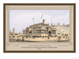 Glass Exhibition Building, Centennial International Exhibition, 1876 Prints by Thompson Westcott