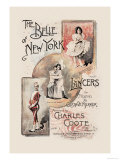 The Belle of New York, Lancers Print by W&amp;d Downey