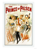 The Prince of Pilsen Print