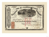 The McClintockville Petroleum Company, c.1864 Affiche