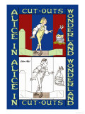 Alice in Wonderland: Young Man and Father William Poster by John Tenniel