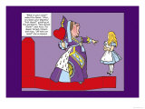 Alice in Wonderland: The Queen of Hearts Posters by John Tenniel