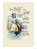 The Belle of New York Prints by W&d Downey