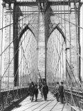 New York and Brooklyn Bridge Photo by George P. Hall