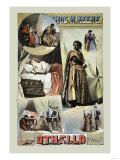 Thomas W. Keene as Othello, c.1884, Giclee Print