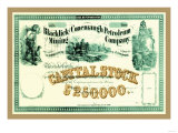 Blacklick &amp; Conemaugh Petroleum Mining Company, c.1863 Posters