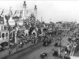 Luna Park and Surf Avenue Print by Irving Underhill