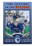 Time to Score,Composer,Composition,Ppppp in the Red Zone Premium Giclee Print by Richard Kelly