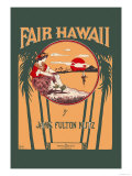 Fair Hawaii Prints by L. E. Morgan