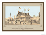 Centennial International Exhibition, 1876 Posters by Thompson Westcott