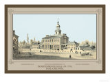 Independence Hall in 1776, Philadelphia Posters by Thompson Westcott