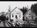 Home of Chief Ko-Teth Sha-Doc, Ketchikan, Alaska Posters by Charles Clenton Page