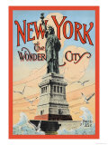 New York, The Wonder City Prints by Irving Underhill