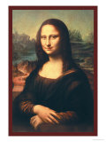 Mona Lisa Prints by  Leonardo da Vinci