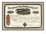 Karthus Coal and Lumber Company, c.1870 Photo