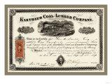 Karthus Coal and Lumber Company, c.1870 Photo