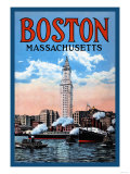 Boston Massachusetts Poster