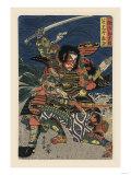 Great Samauri in Battle Plakater
