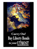 Carry On! Buy Liberty Bonds to Your Utmost Art by Edwin Howland Blashfield
