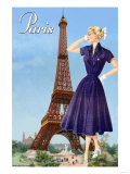 Paris Fashion I Posters
