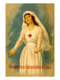 Third Red Cross Roll Call Posters by William Haskell Coffin