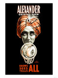 Alexander Crystal Seer Poster