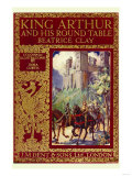 King Arthur and His Round Table Premium Giclee Print