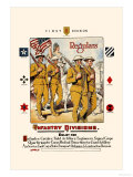 Regulars, Infantry Divisions Prints by Otho Cushing