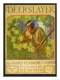 Deerslayer Plakater af Newell Convers Wyeth