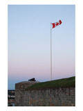 Silent Guns of the Quebec Citadel Print by Jason Pierce