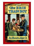 The Erie Train Boy Prints