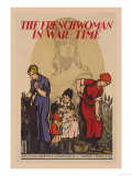 The French Woman in War-Time Prints by G Capon