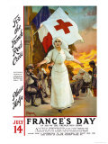 France's Day, Please Help Posters by Amedee Forestier