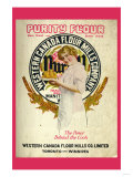 Purity Flour Cook Book Premium Giclee Print