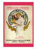 Purity Flour Cook Book Prints