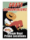 Grate Condominiums Posters