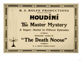Houdini in the Master Mystery a Super-Serial in Fifteen Episodes Posters