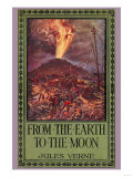 From Earth to the Moon Prints