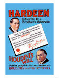 Hardeen Inherits His Brother's Secrets Prints
