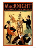 Macknight, Hypnotic Fun Maker Posters