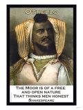 Othello, The Moor, print