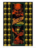 Thurston the Great Magician the Wonder Show of the Universe Premium Giclee Print