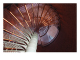 Lighthouse Stairs Prints by Jason Pierce