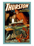Thurston: The Great Magician Print