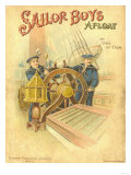 Sailor Boys Afloat Posters