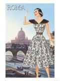 Roma Vatican View Fashion I Prints