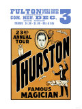 Thurston, Famous Magician 23rd Annual Tour Art