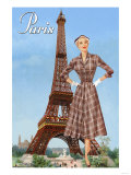 Paris Fashion II Print